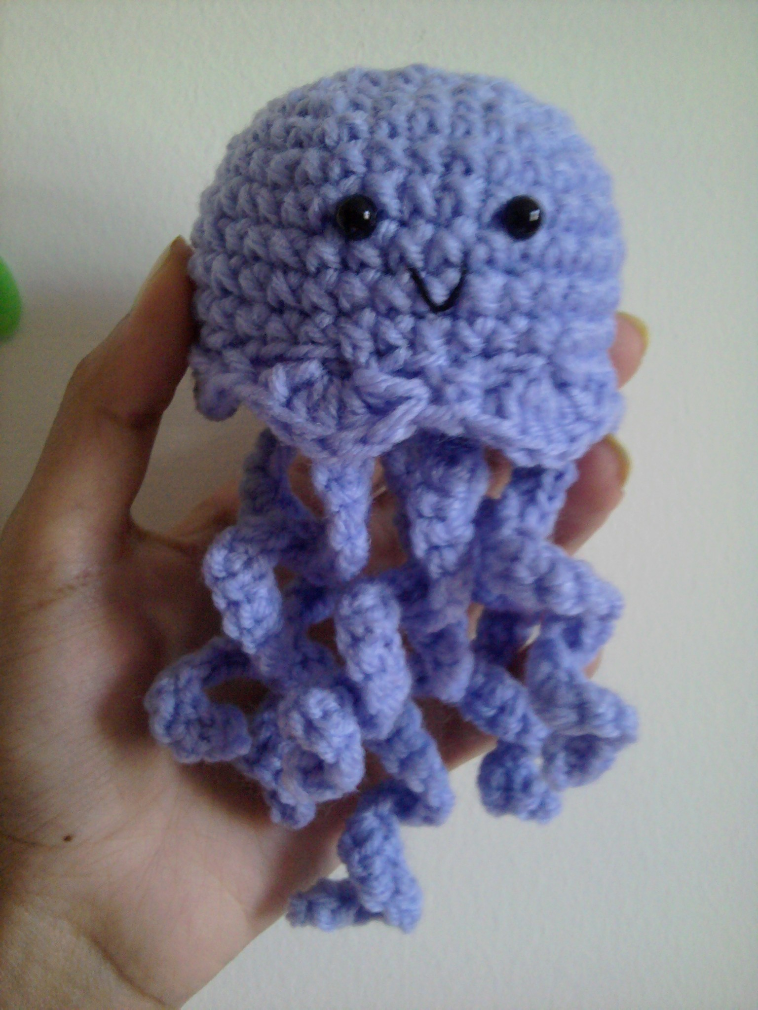 Free Crochet Pattern For Jellyfish : My Jammin Jellyfish (and pattern!) millieonherworld