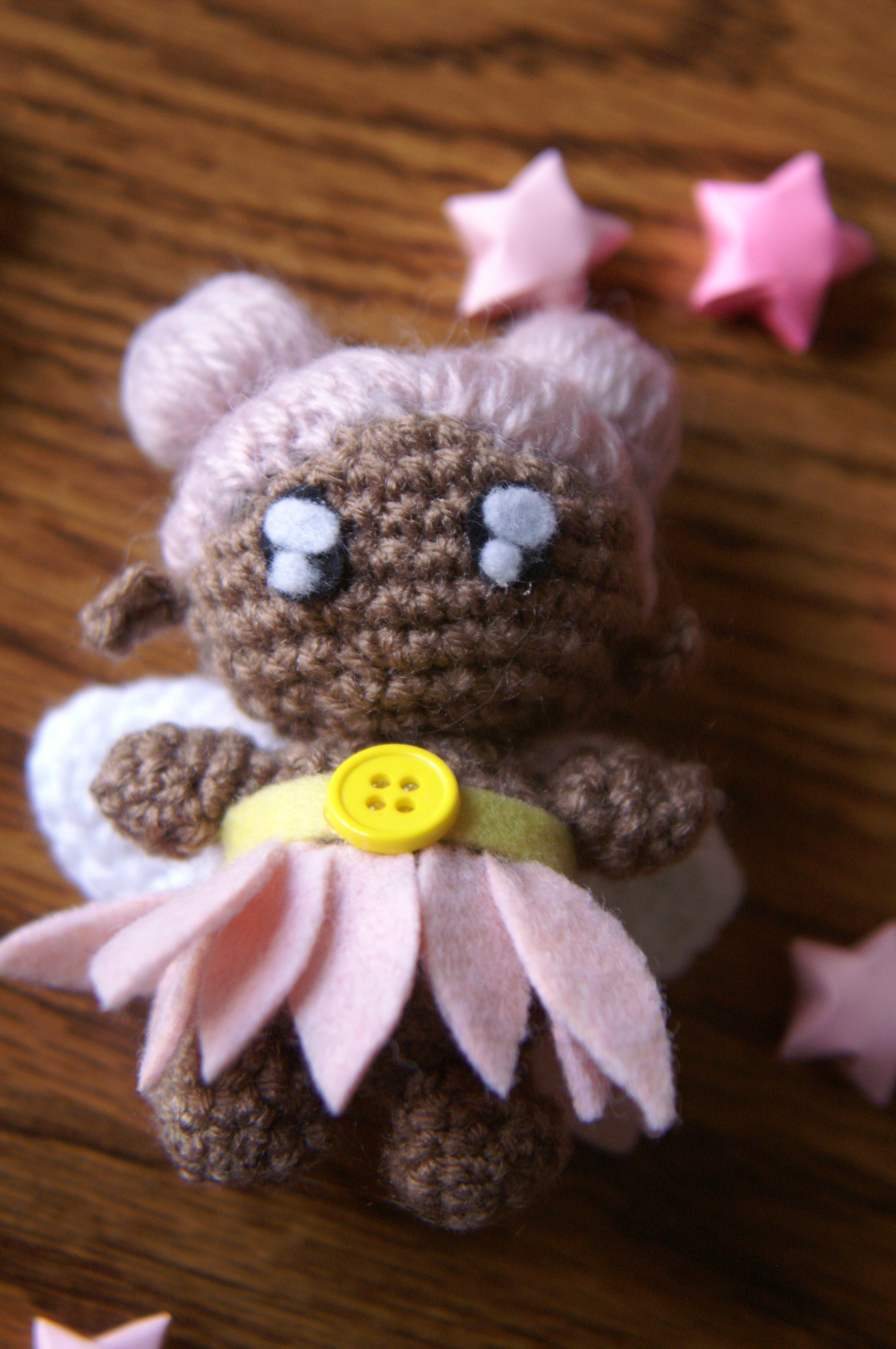 Amigurumi Fairy Pattern : Alvarie the Fairy: Amigurumi Pattern millieonherworld