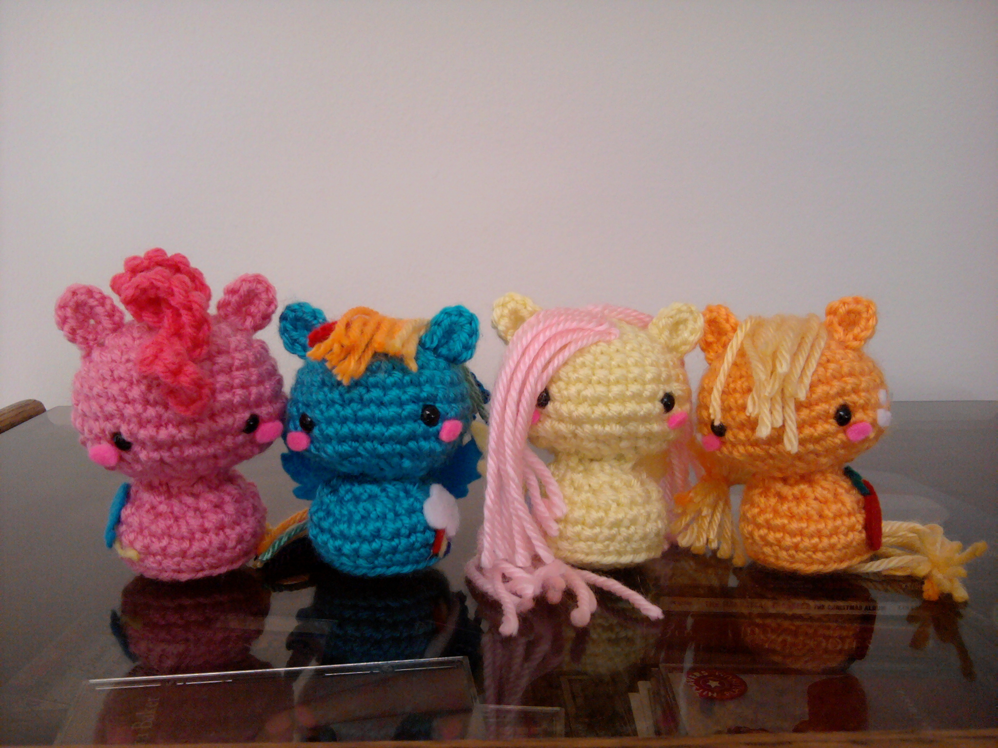 Crochet My Little Pony Millieonherworld