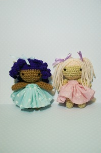 Lola and Lulu  in tutus