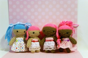 (left to right) Molly, Tia, Tiffany, Minnie