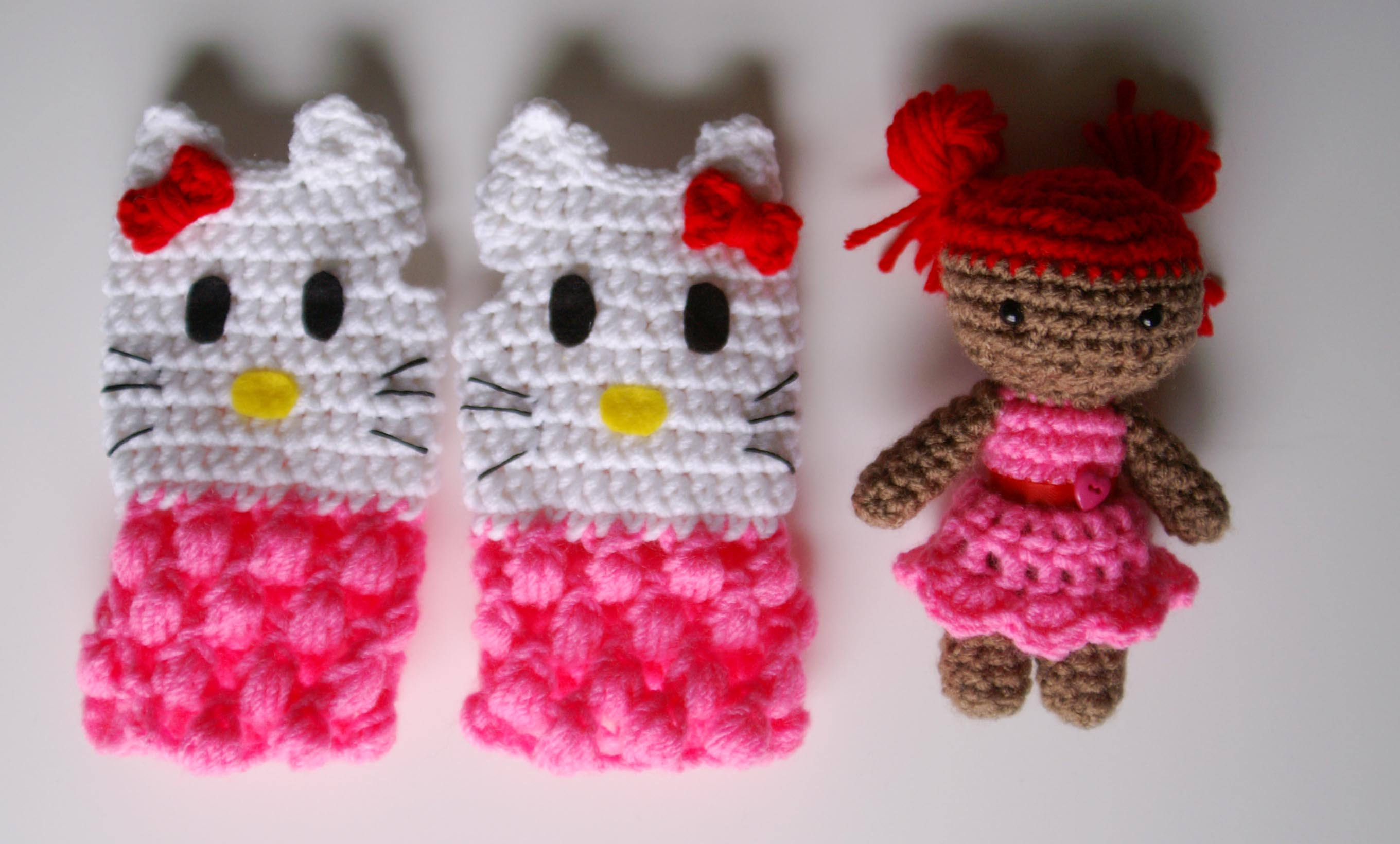 Hello Kitty Fingerless Gloves Millieonherworld