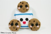 crochet milk and cookies amigurumi millie crochet house