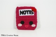 amigurumi notebook crochet kawaii milliecrochethouse