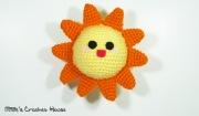 amigurumi sun crochet mille crochet house