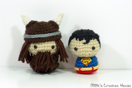 A fearsome Viking and the Man of Steel, Superman