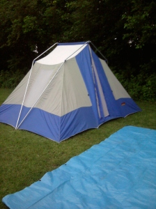 camping with millieonherworld