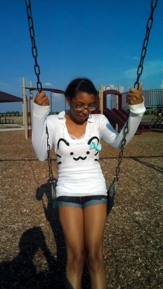 Just swingin' along~