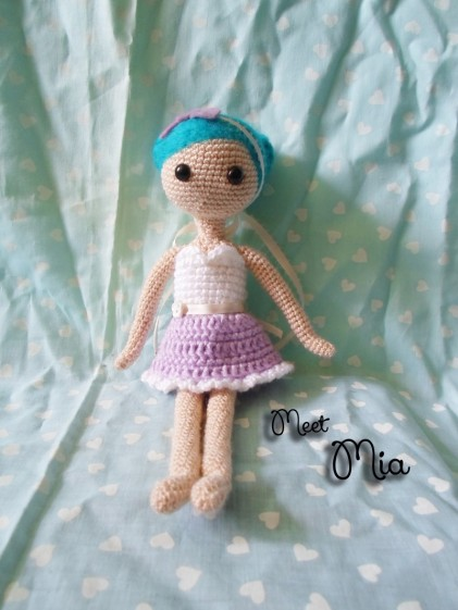 Crochet Mia by Millieonherworld