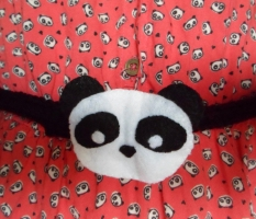 felt crochet panda belt millieoneherworld