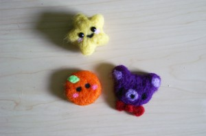 felted star felted food felted bear millieonherworld