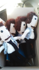 Lee DeWyze Doll Amigurumi Doll